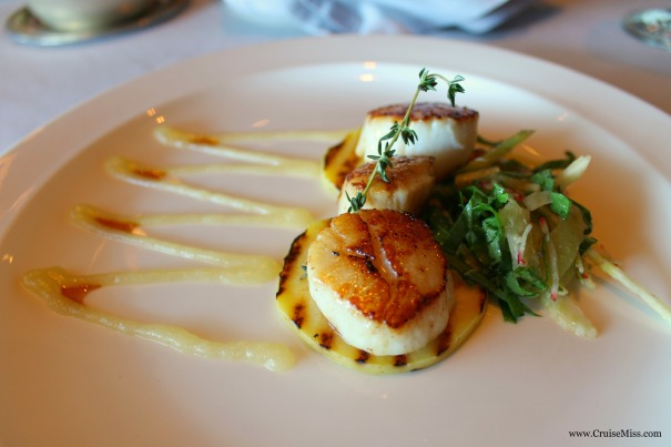 Scallops Princess Cruises Grown Grill