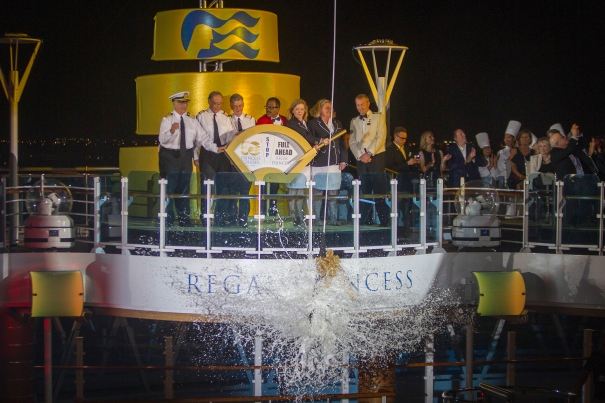 Regal Princess Love Boat Christening Ceremony