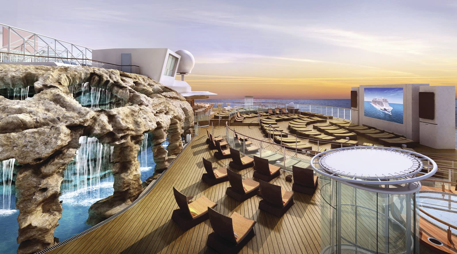 Norwegian Escape To Feature Snow Room And Largest Thermal