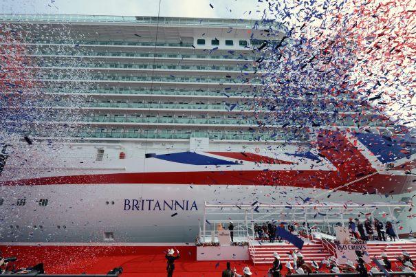 P&O Cruises Britannia.