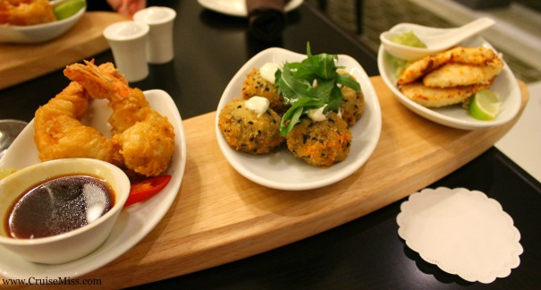 Tapas in The Glass House