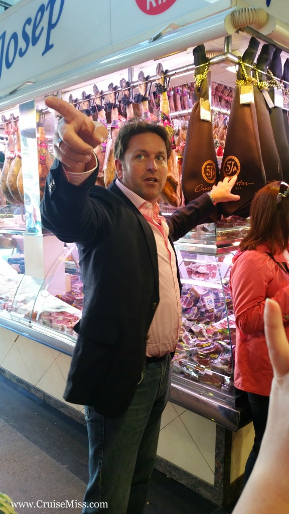 James Martin giving us directions in Barcelona ;)