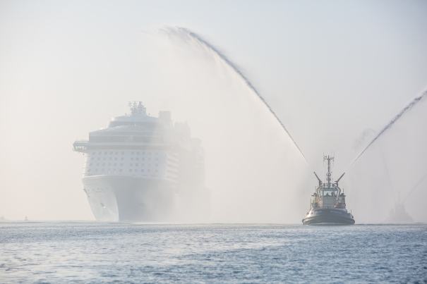Anthem of the Seas arrives in Southampton