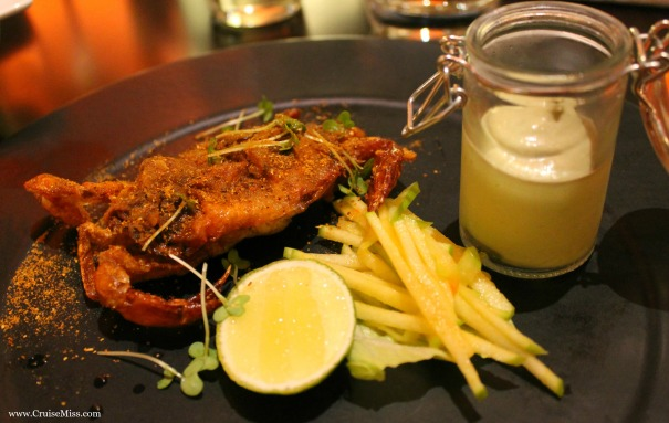 Soft shell crab in Sindhu