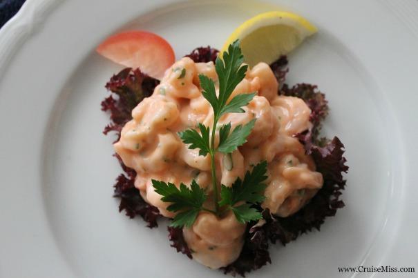 Classic prawn cocktail (room service)