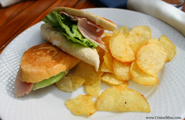 Ham sandwich - sometimes you just need something simple!