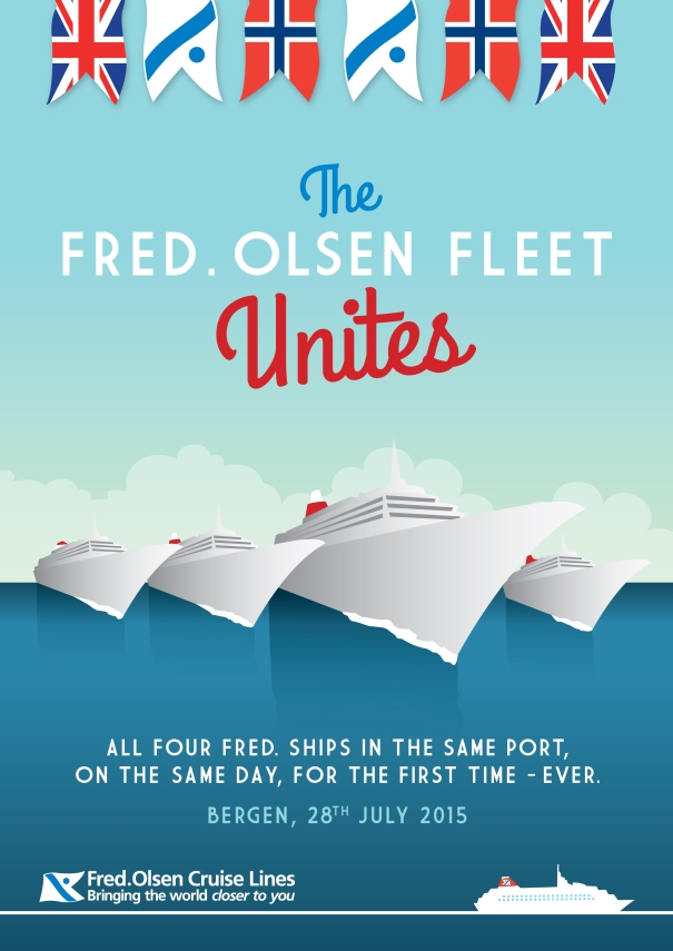 4-ships-in-bergen-fred-olsen-cruise-lines