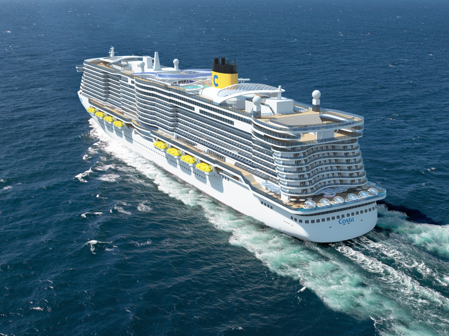 Costa Cruises To Build New Ships With World S Largest