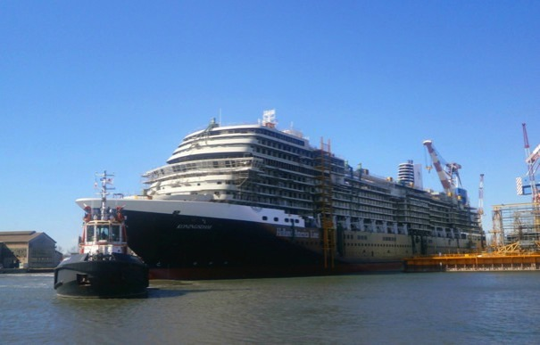 Koningsdam-Sea-Trials