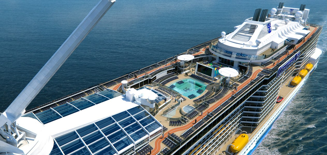 Ovation Of The Seas Construction Countdown CruiseMiss