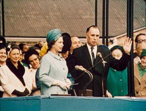 HM The Queen launches Queen Elizabeth 2