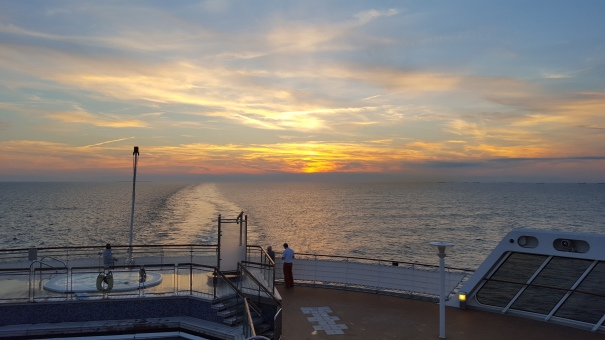 Sunset-North-Atlantic-Cunard