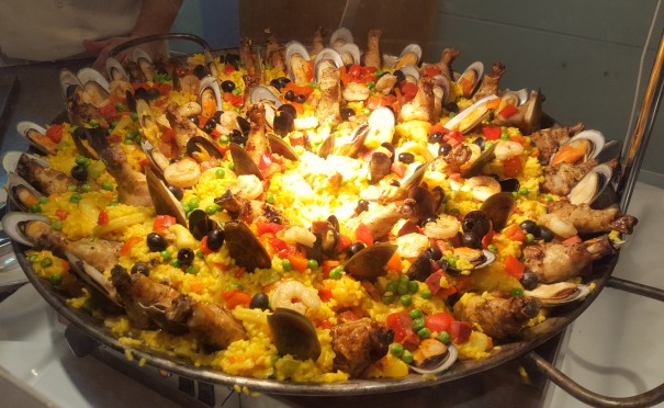 Seafood Paella - The Palms (buffet)