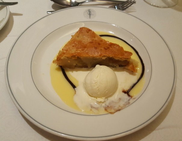Applie pie and ice cream - Main Dining Room