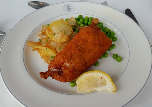 Pork Cordon Bleu - Main Dining Room