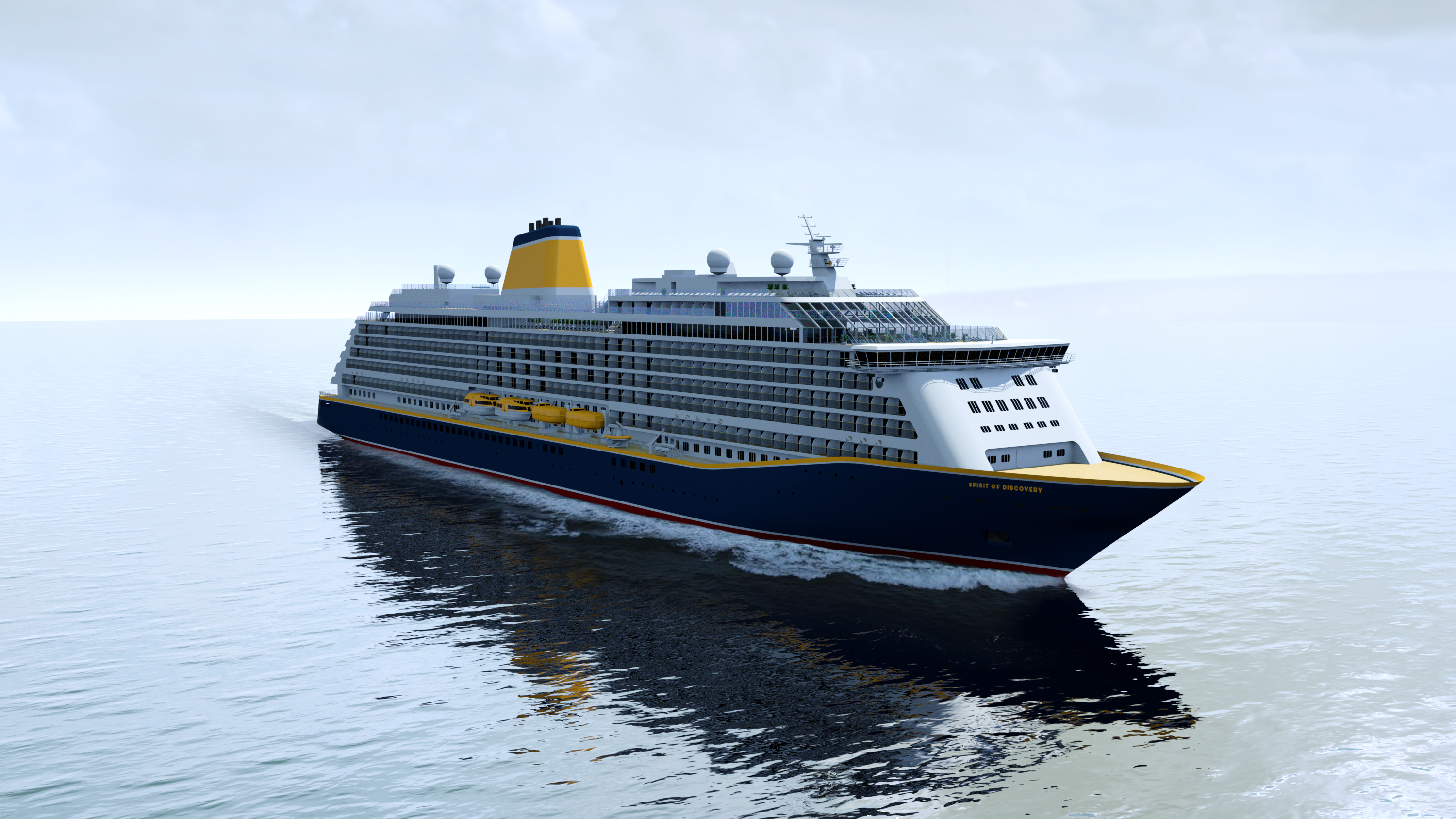 New Ship For Saga Cruises Will Be Named Spirit Of ...