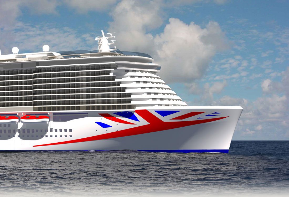 WIN A Place In History And Name P&O Cruises Newest Ship ...