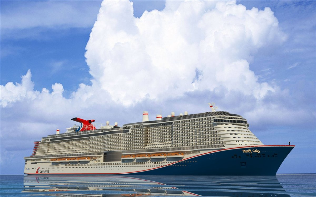 Largest Carnival Cruise Line Ship Ever Constructed To Be